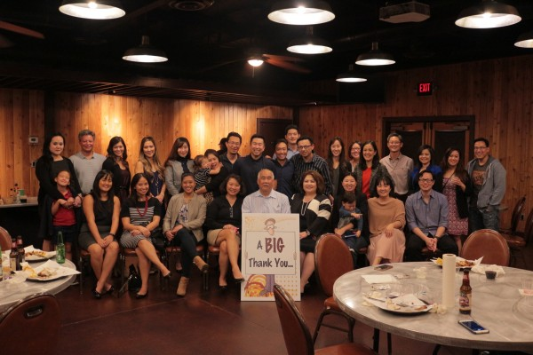 Peter Quon Retirement Party Photo